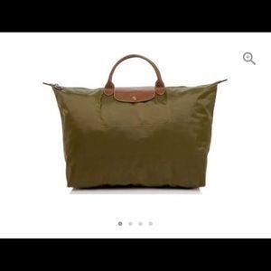 Longchamp Bags   Long Champ Le Pilage Nylon Weekender   Poshmark 810e25757e